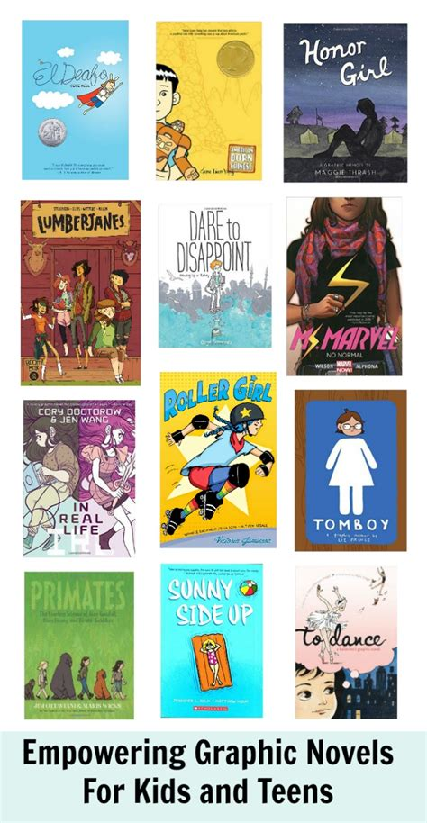 27 best images about graphic novels for kids empowering graphic novels for teens a gift guide whileshenaps com