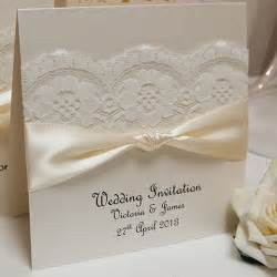 places to get wedding invitations made lace handmade wedding invitations and matching lace