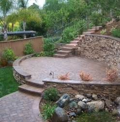 retaining walls on a slope retaining wall ideas for