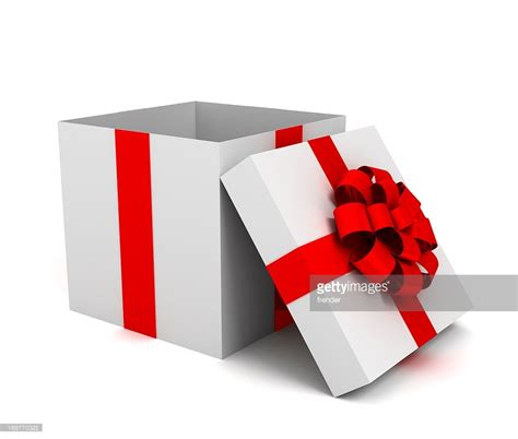 opened gift box stock photo getty images