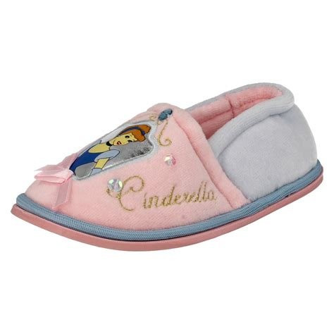 infant house slippers infant girls disney princess cinderella house slippers ebay