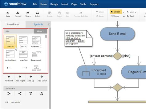 make a diagram how to make uml diagrams