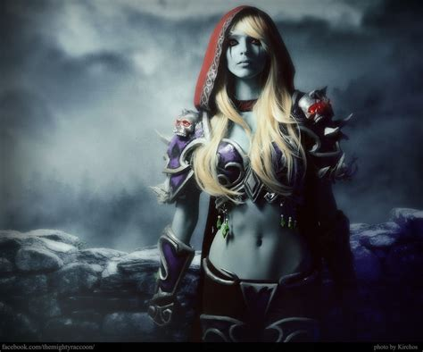 sylvanas windrunner the banshee queen by mightyraccoon
