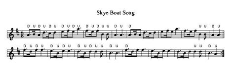 skye boat song fiddle bowing scottish fiddle tunes