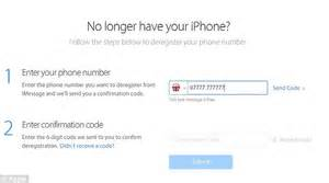 When a person registers an iphone their number is typically linked to