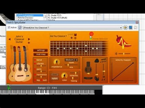 tutorial virtual guitar spicy guitar vst instrument in mixcraft how to record