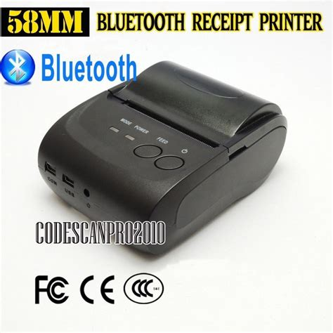Port Usb Bluetooth 58mm mini wireless bluetooth android portable mobile