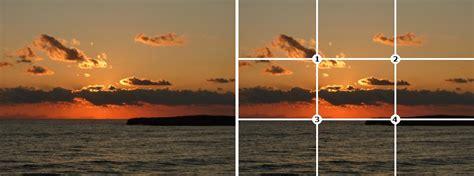lade per fotografia la regola dei terzi nella composizione fotografica