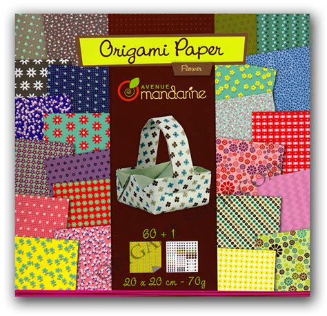 Origami Scrapbook - origami papers lollipop 60 sheets 20x20cm