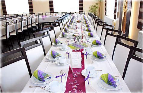 Tischdekoration Hochzeit Gr N by Saal In Landgasthof S 246 Rgel In Alfeld Hochzeit Umgebung