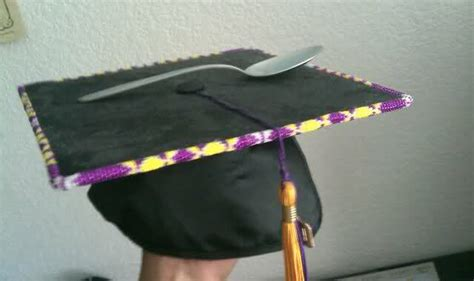 Beaded Graduation Cap Graduation