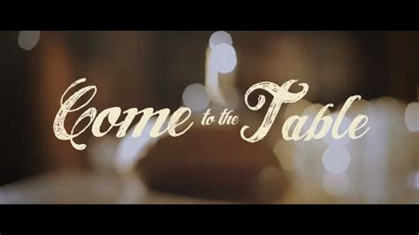 To The Table Come To The Table Promo