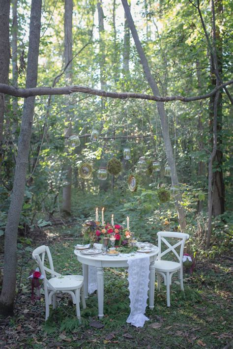 enchanted forest birthday party pretty  party party