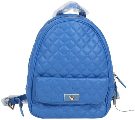 Charles N Keith Blue charles and keith blue backpack