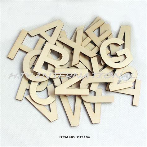Wholesale Home Decor Stores by 26letters 78pcs Lot 50mm Wooden Alphabet Letters Set