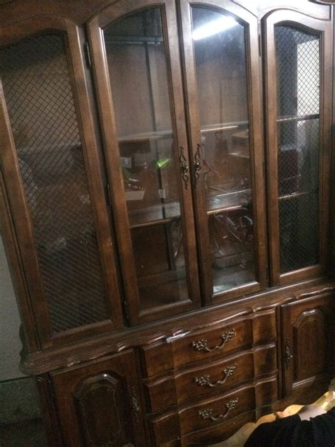I Have A Broyhill China Cabinet With The Marking Of 7980 Broyhill China Cabinet Vintage