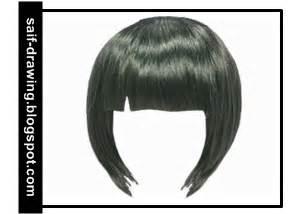 cara mengarsir bagian rambut
