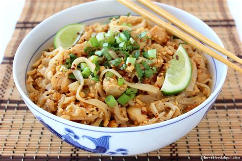 how to a to on a pad classic chicken pad thai how to feed a loon