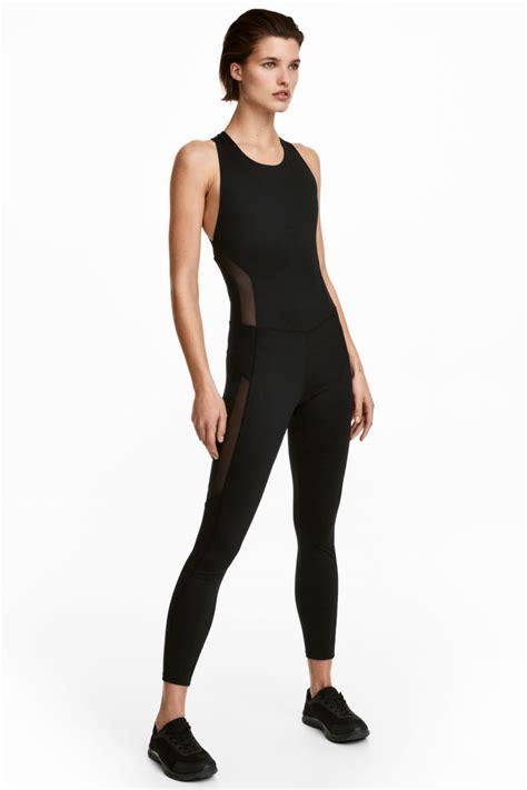 sports jumpsuit black sale h m us