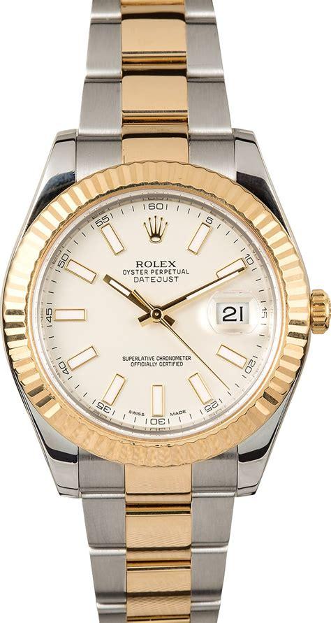 rolex datejust 41mm ivory index