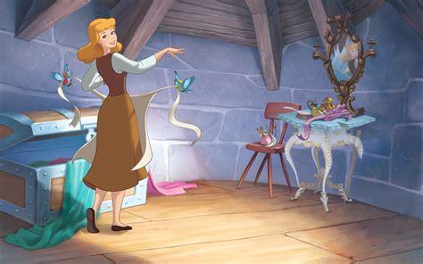 Cinderella The Story Of Cinderella Disney Princess image disney princess cinderella s story illustraition 1