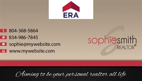 era business card template era business cards 06 era real estate business cards 06