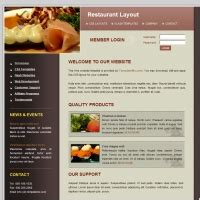 Restaurant Profile Template personal profile free website templates for free