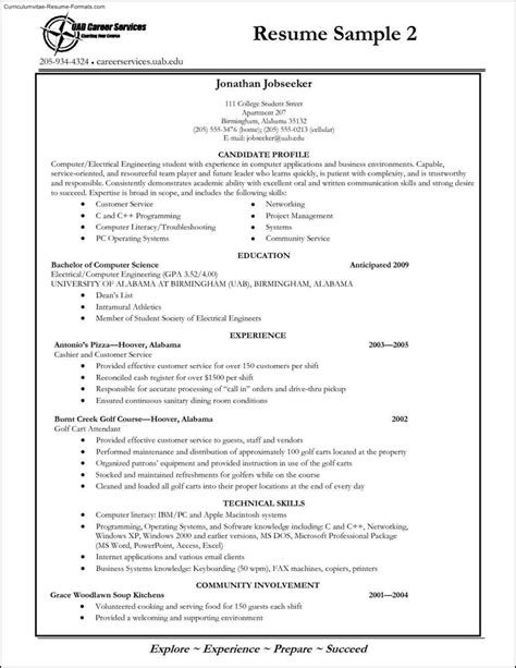 Student Resume Template by College Student Resume Template Word Free Sles