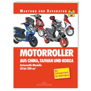 Louis Motorrad Taiwan by Reparaturanleitung China Taiwan Korea Motorroller 288 S