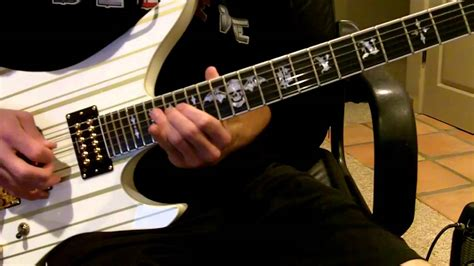 bullet for my guitars bullet for my the end guitar cover
