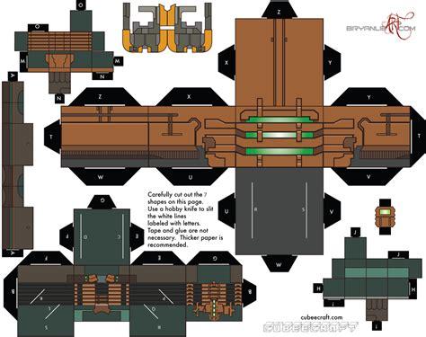 Dead Space Papercraft - isaac clarke from dead space cubeecraft cubeecraft
