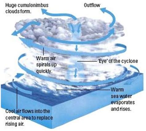 cyclone formation diagram nebula diagram how its form pics about space