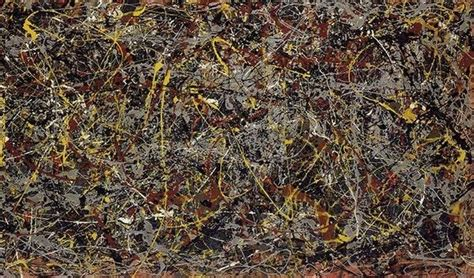 ex machina location did they use an original jackson pollock painting in ex