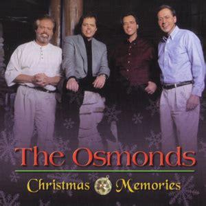 osmonds christmas memories cd  osmond store