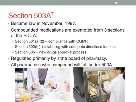 fdca section 505 board of pharmacy updates