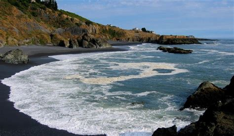 black sand beaches 12 beautiful black sand beaches of the world escapehere
