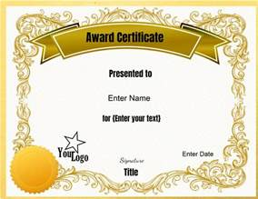 Customizable Certificate Templates by Service Award Certificate Templates Free Printable And