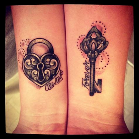 cute matching tattoo ideas  couples