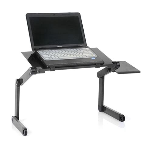 adjustable laptop notebook desk table stand bed tray foldable wmouse board ebay