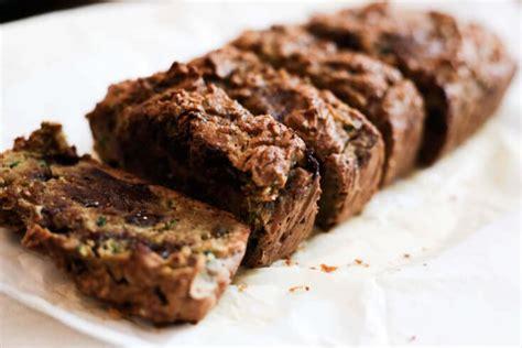 Detox Cocoa Bread Recipe gluten free chocolate chip zucchini bread recipe