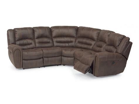 fabric reclining sectional flexsteel fabric reclining sectional 1710 sect