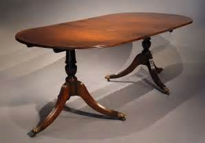 Oval Mahogany Dining Table Antique Oval Mahogany Dining Table Loveday Antiques