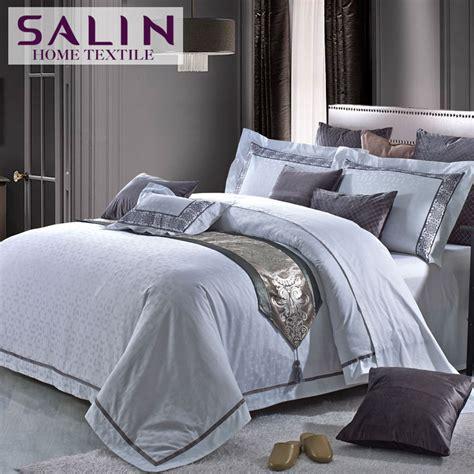 luxury white bedding salin long staple cotton 80s 400tc five star hotel bedding