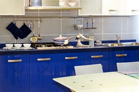 red and blue kitchen kitchens in five colors red yellow white blue and