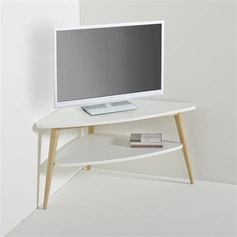 Meuble D Angle Tv by Meuble Tv D Angle Vintage Plateau Jimi Blanc La