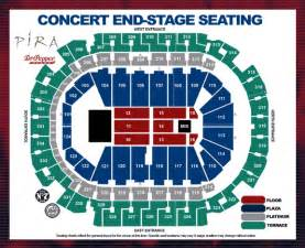 Philips arena concert seating chart with seat numbers