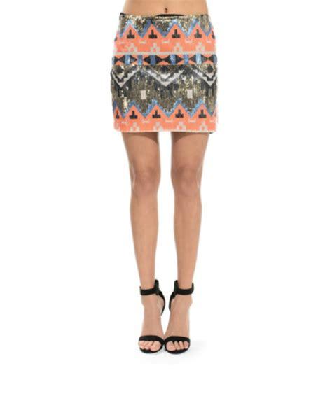 tribal patterned mini skirt flashy jane tribal print mini skirt