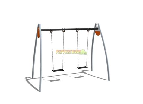 swing with frame steel swing frame with flat commercial rubber swings by