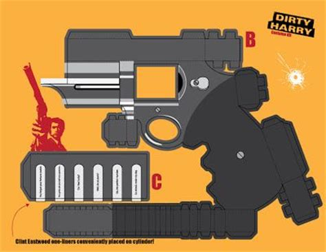 Paper Craft Gun - image search search and templates on
