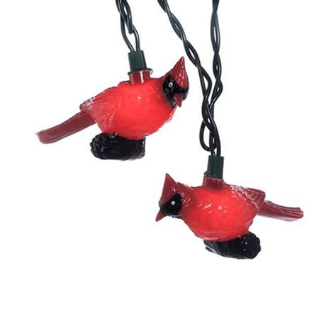 duncraft com red cardinal light set